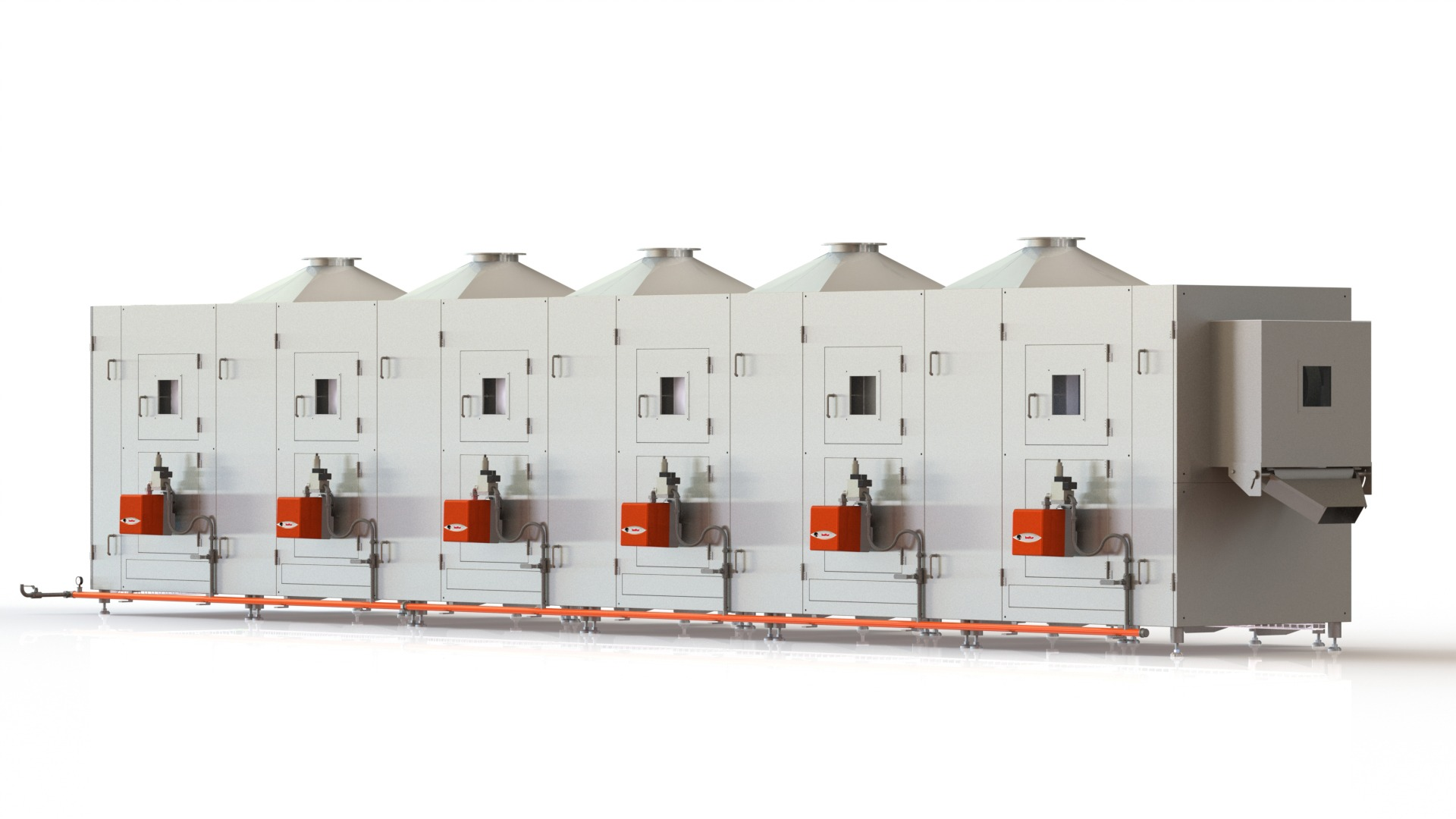 5c. CPR-600 COATED NUTS ROASTER (Latest)