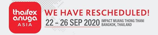 Thaifex Anuga Asia 2020